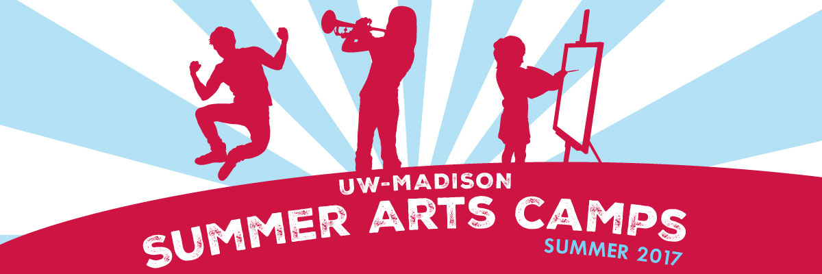Summer Arts Camps 2017 banner