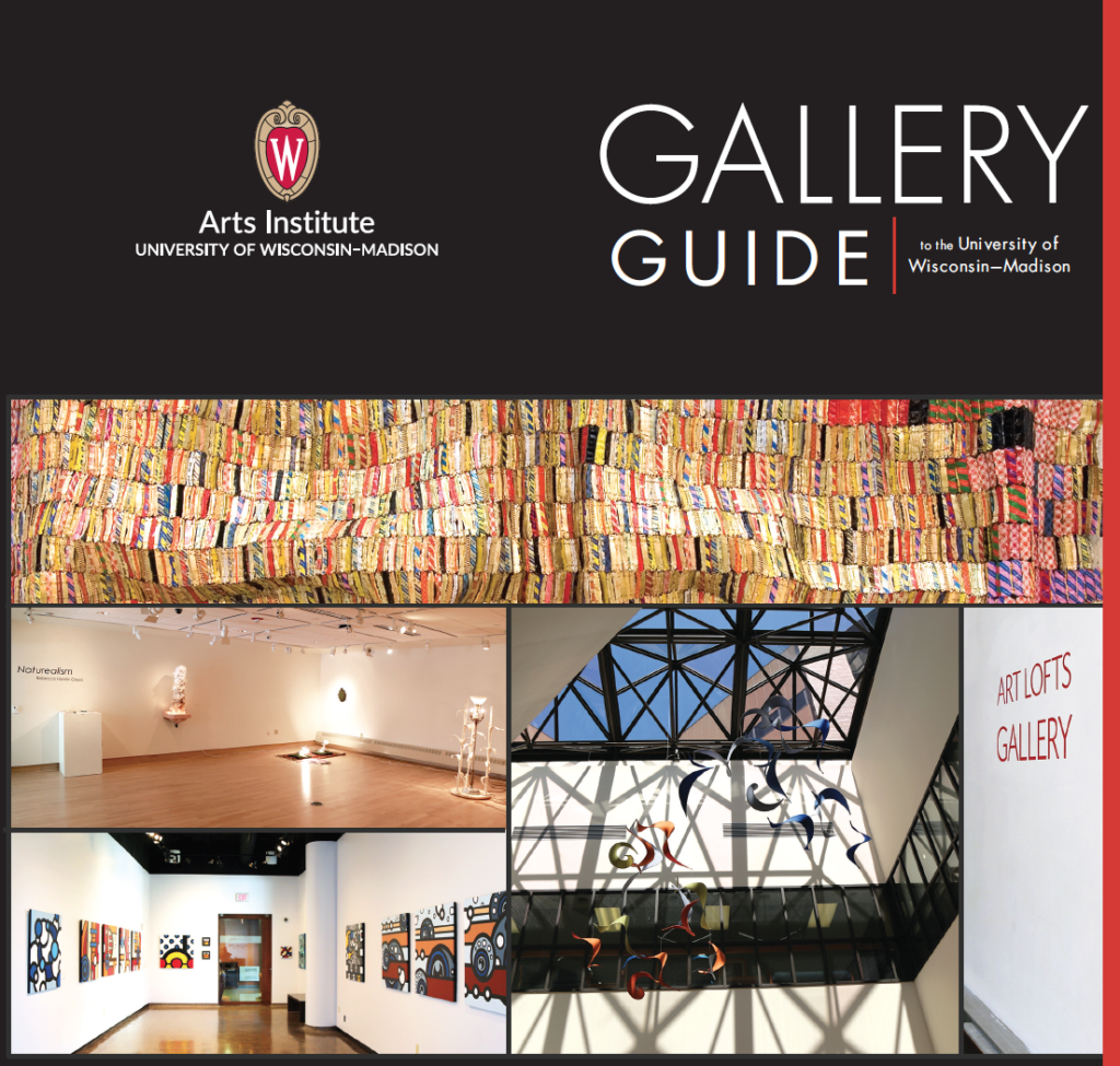 Gallery Guide to the University of Wisconsin-Madison cover page